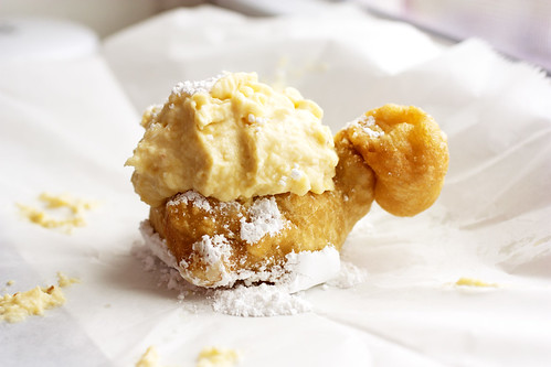 cream puff @ led zeppole