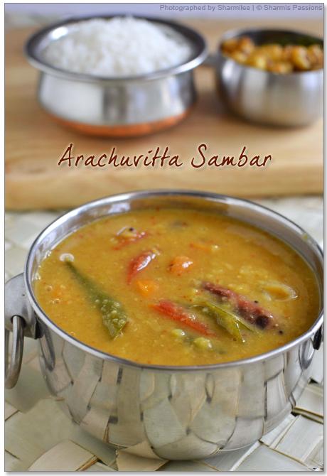 Arachuvita Sambar