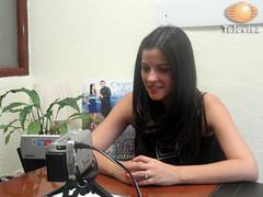 Maite Perroni em chat da Televisa.com