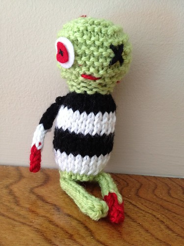 Crochet Zombie Patterns : Knits by Britt: Knitted Zombie Pattern