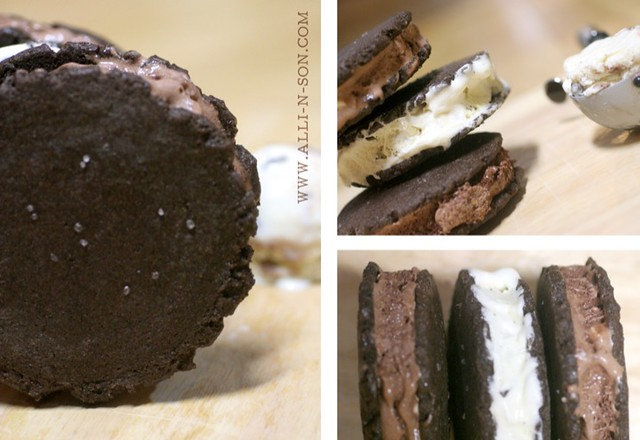 Chocolate Cookie Ice Cream Sandwich Recipe