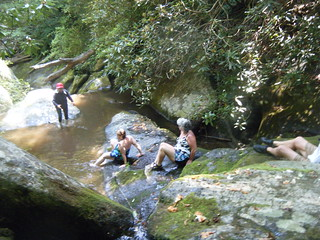 Descending Bear Camp Creek