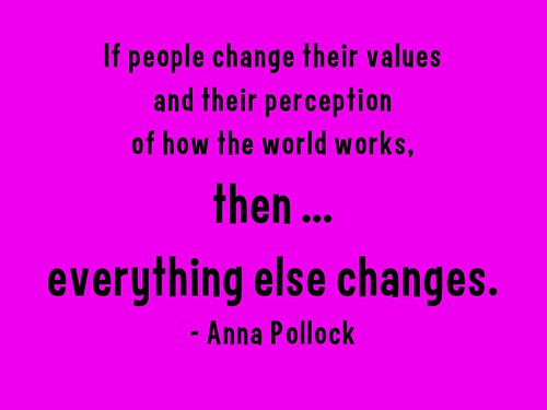 If people change their perception of how the world works, then everything else changes @PembridgeAnna @ConsciousHost