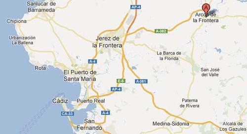 mapa arcos de la frontera2 - Google Maps