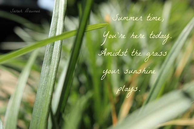 Summer poem...