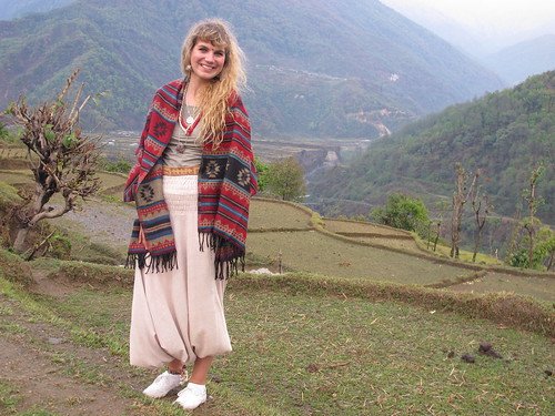 Yak-Wool Scarves in Nepal