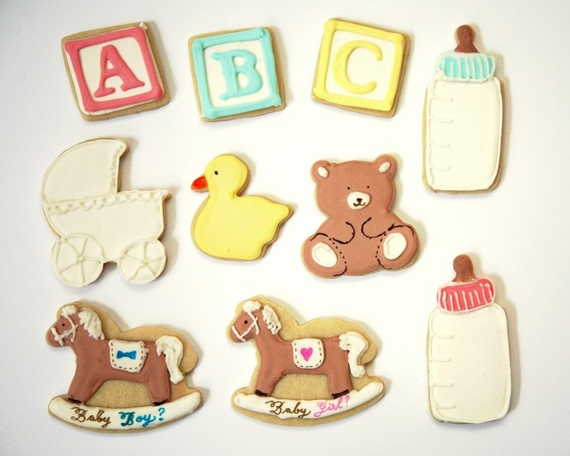 MB's Baby Shower Cookies