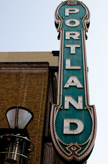 Project 365: Day 187 - Portland Theatre