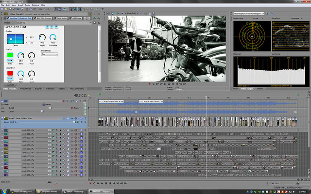 Double KO - Avec le Vent Dans le Dos editing screenshot