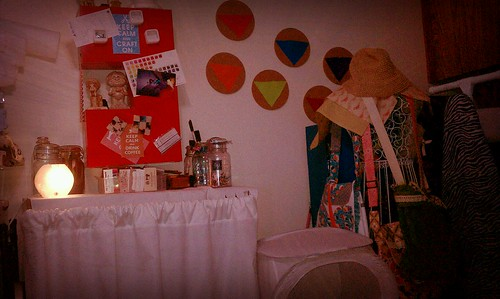 A part of my dining room stuido! by SunshineNellie