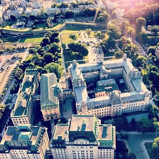 L'Assemblée Nationale du Québec à bord du ballon Banque Laurentienne #defiballonbl #assnat