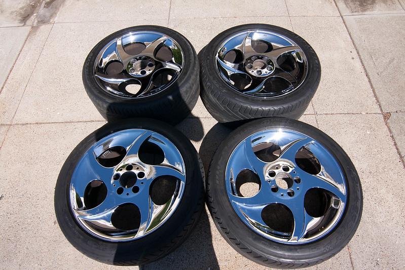 Fs mercedes benz chrome alphards for Mercedes benz alphards