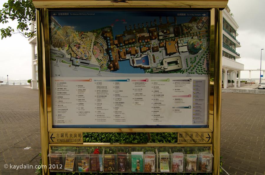 Macau Fisherman's Wharf map