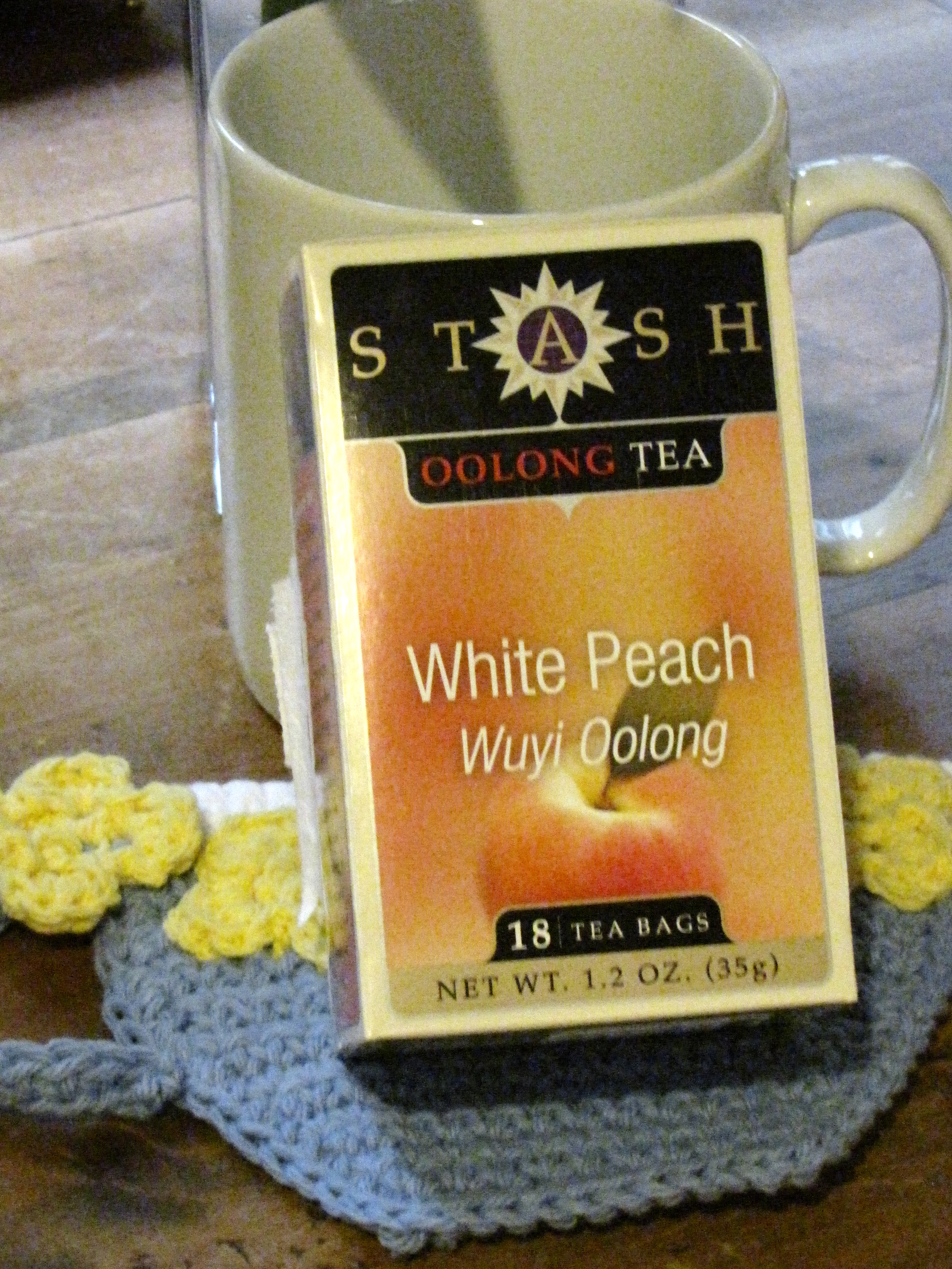 Stash White Peach Oolong Tea