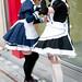 Maids on the Streets of Akihabara - Tokyo, Japan