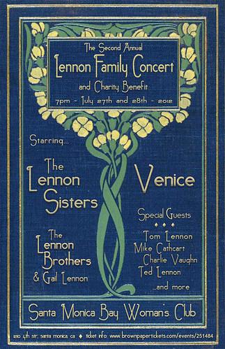 Lennon Family Concert and Fundraiser