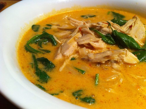 Chicken, Rocket & Spinach Laksa by mjd-s
