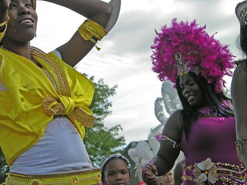 Carifest 2012 yellow girl 2