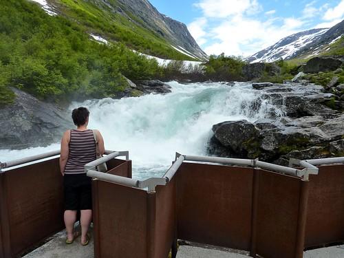 Fjorden (NO) - Gamle Strynefjellsvegen - Videfossen