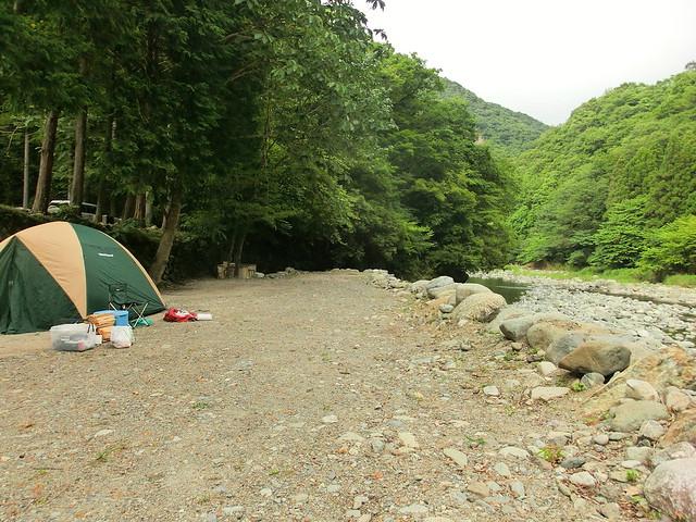 藤野キャンプ場 サイレントリバー(神奈川県津久井)
