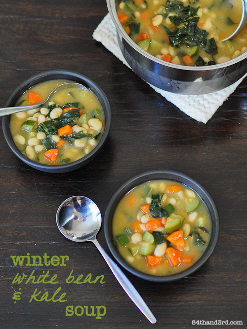 Winter White Bean & Kale Soup