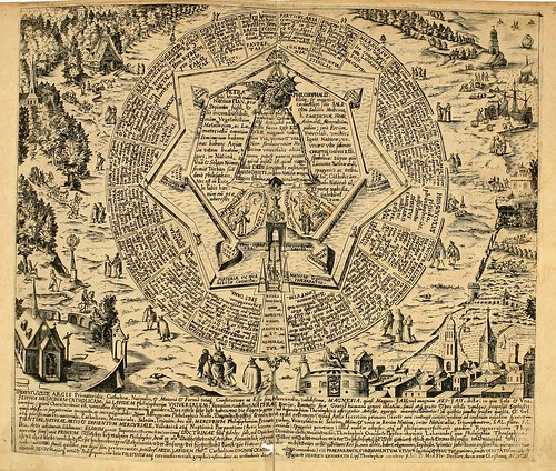 013-Segundo grabado rectangular horizontal-Amphitheatrvm sapientiae aeternae…-1609- Heinrich Khunrath