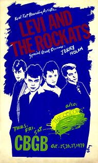 Rockats CBGB flyer