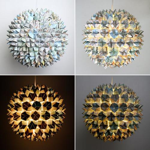 map-lamp