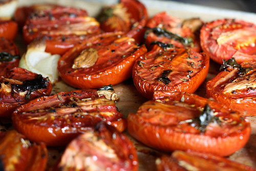 ... roasted tomatoes, feel free to use canned whole roasted tomatoes