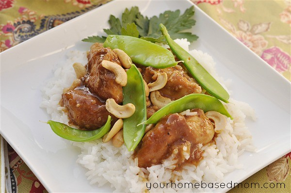 Crockpot Cashew Nut Chicken