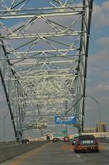 Traveling I 40 into Memphis Tn from Bentonville Arkansas - 16