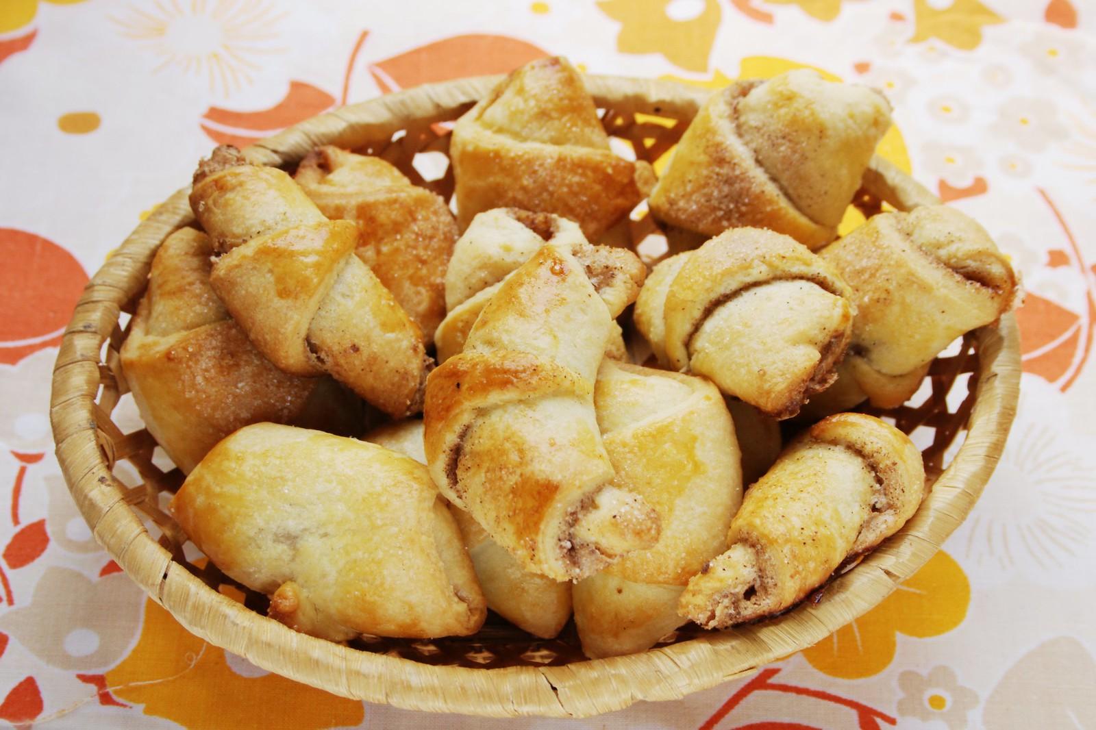 Рогалики на дрожжах рецепты с пошагово