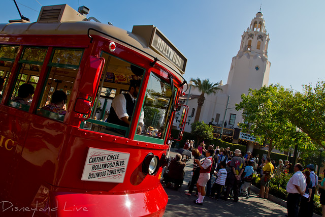 Red Car Trolley - Buena Vista Street