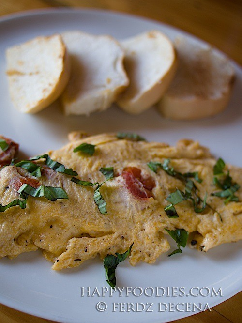 Sagada Omelet Toast