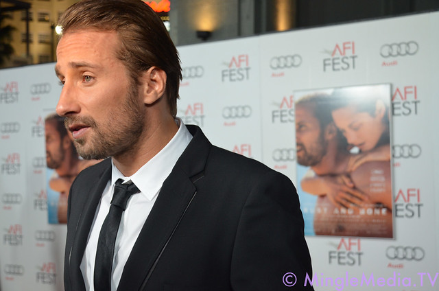 AFI Fest's Rust and Bone Gala Screening Red Carpet