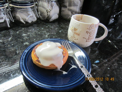 Photo A Day Nov.3--Breakfast by marie watterlond