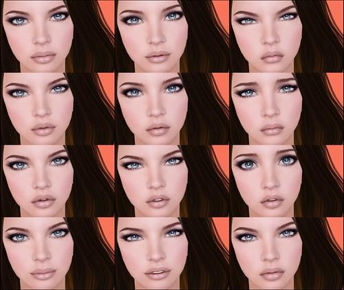 LOGO | Chloe Mesh Head | Expressions