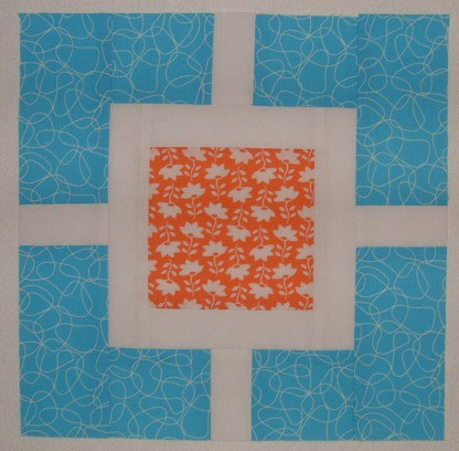 Simply Modern Bee Nov12 orange aqua
