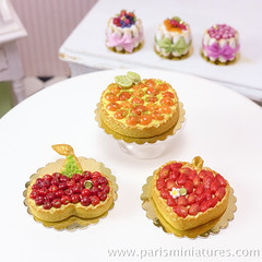 Miniature Fruit Tarts - French Desserts in 12th Sc…