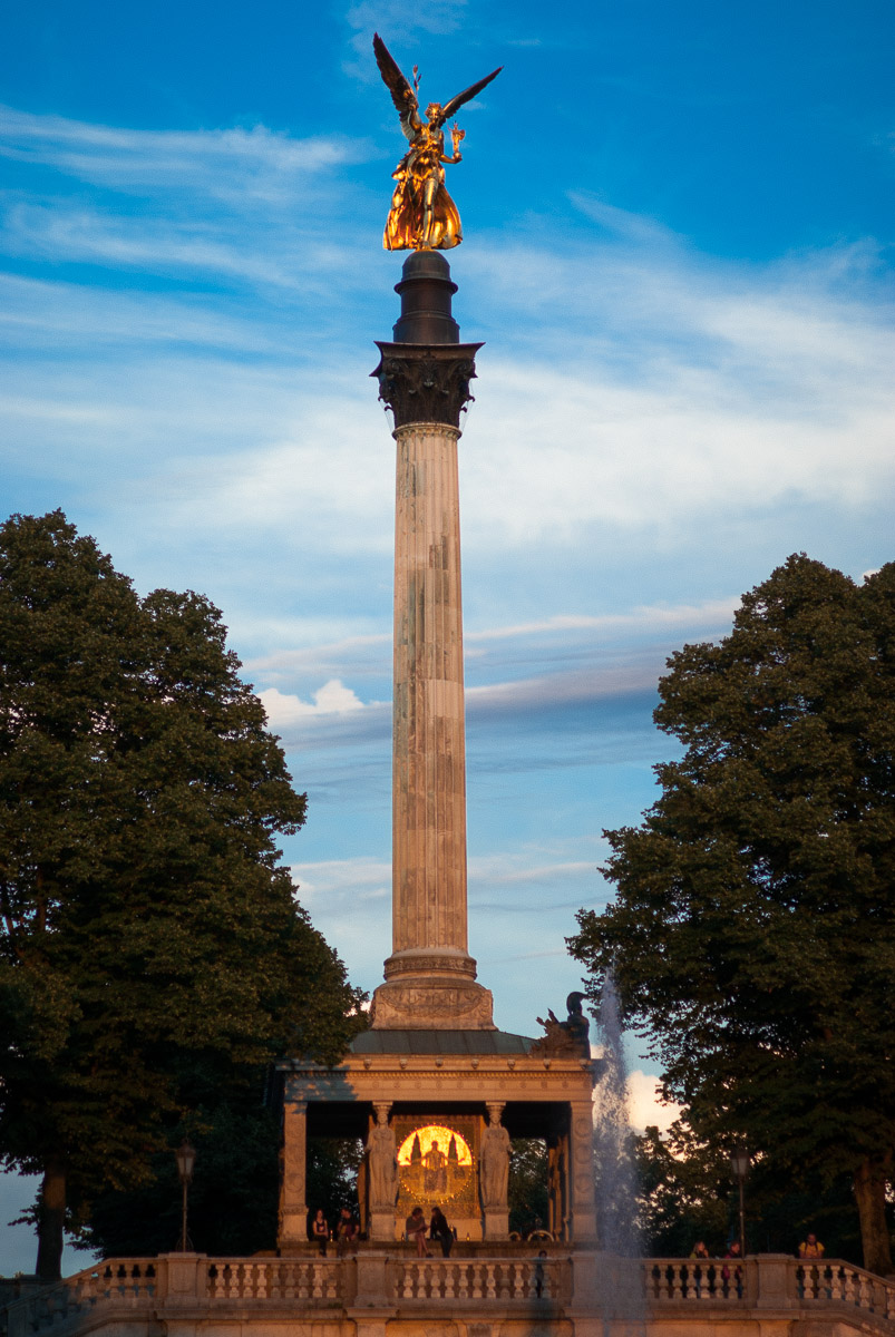 Columna de la Victoria - Múnich