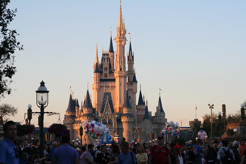 Magic Kingdom Evening