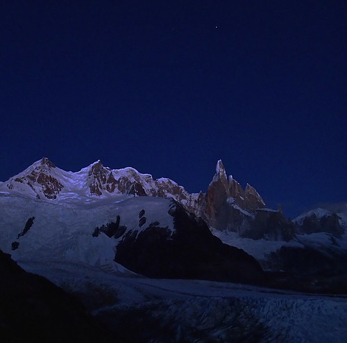 Wed, 2014-03-12 07:03 - Cerro Torre and Adela at dawn