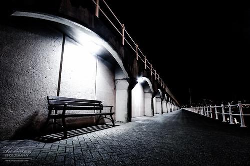 light bench pier nikon harbour seat jersey channelislands sthelier d5100