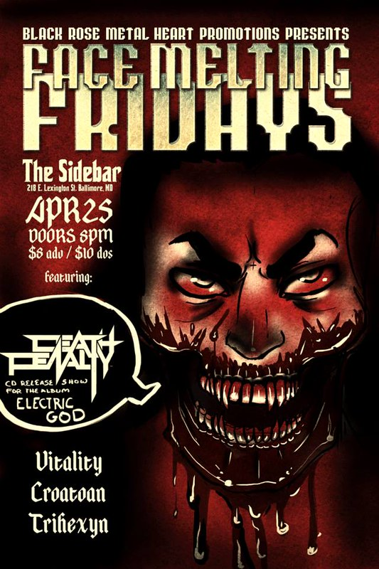Face Melting Fridays at Sidebar