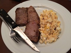 Steak & eggs for breakfast! by Guzilla