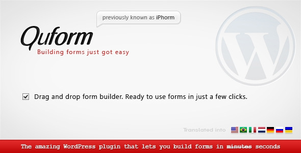 Quform v1.8.2 WordPress Form Builder