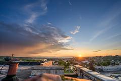 Sunset   Kaunas