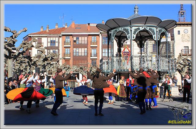 Danzas burgalesas Justo del Río en Briviesca (1)