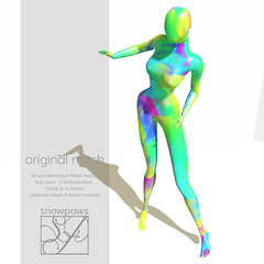 Grace Mannequin Avatar - Abstract