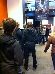 Queue for Iron Sky preview